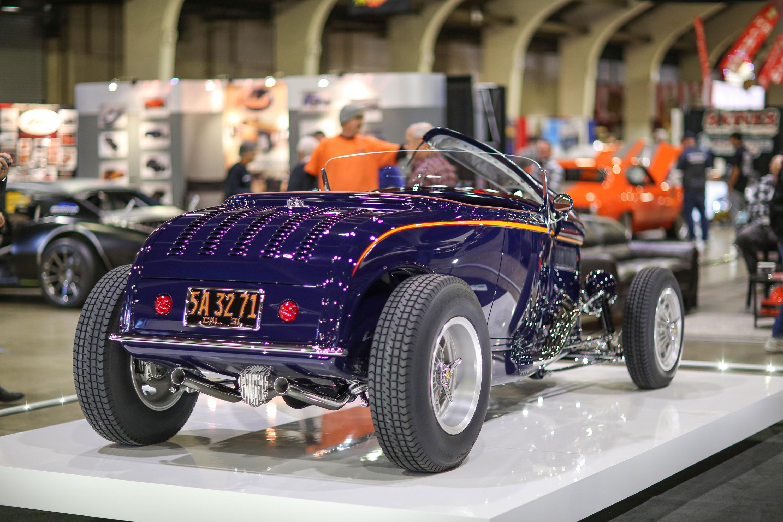 David Martin's '31 Ford Model A rear 3/4