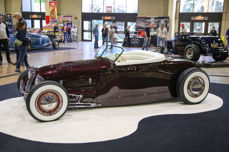 Eddie Dye's Model A track-nose roadster