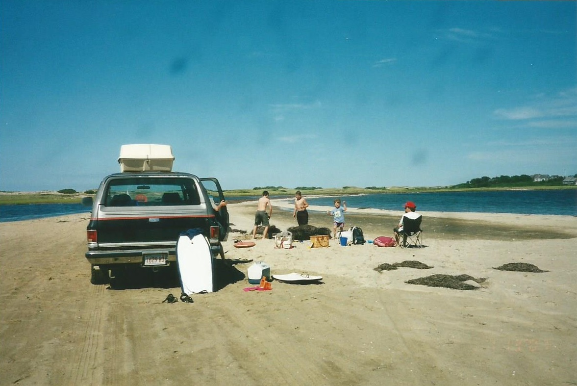 Driving on the beach was never about laziness. It was about reaching otherwise inaccessible areas.
