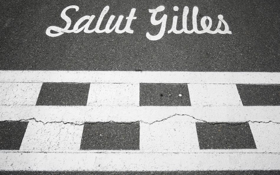 Start-finish-line at Circuit Gilles-Villeneuve