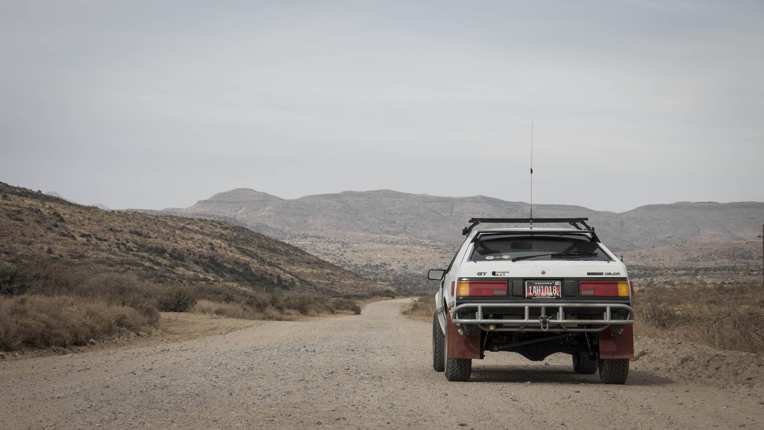 1984 Toyota Celica GT rear