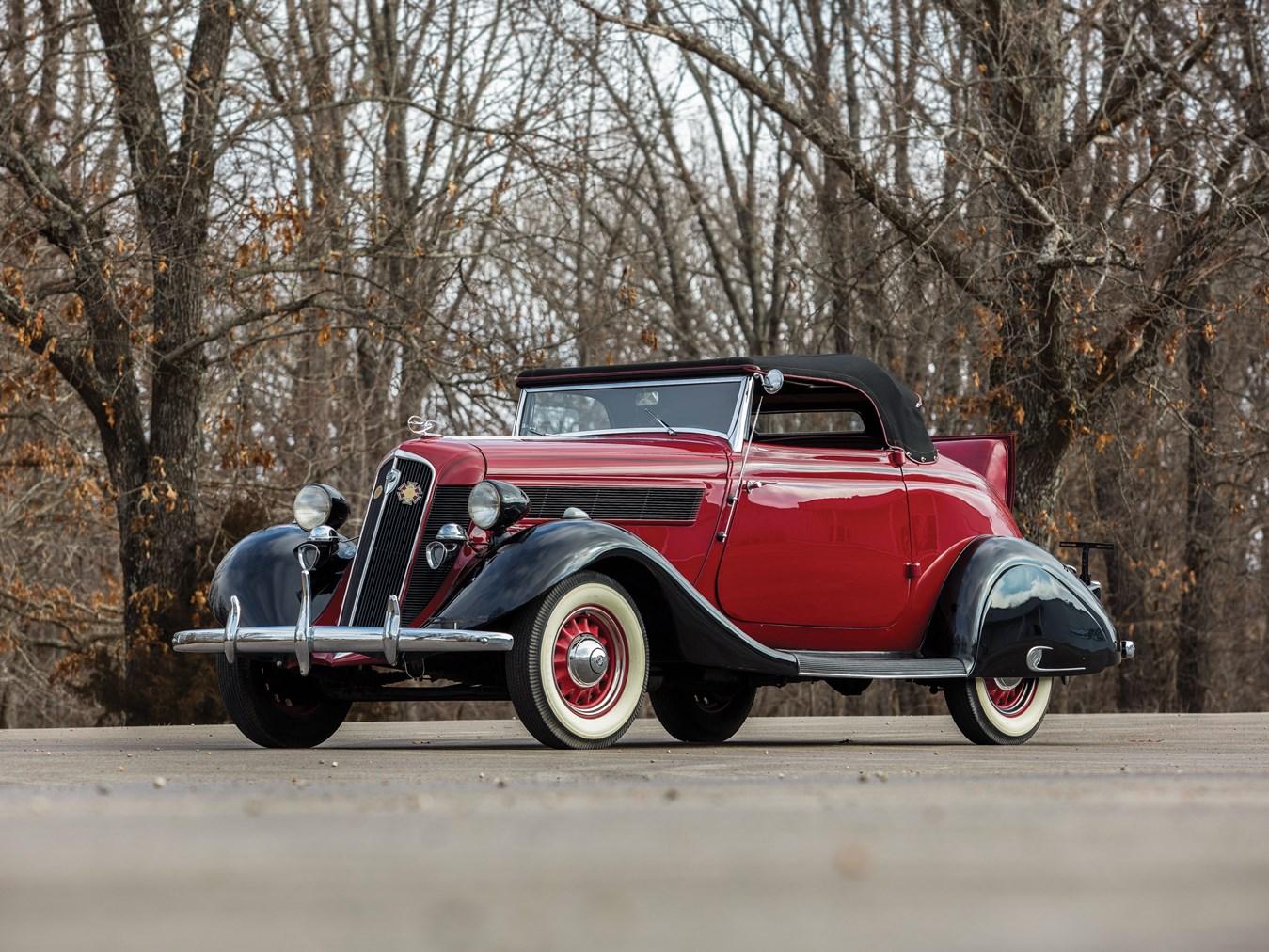 1935 Studebaker Dictator Roadster