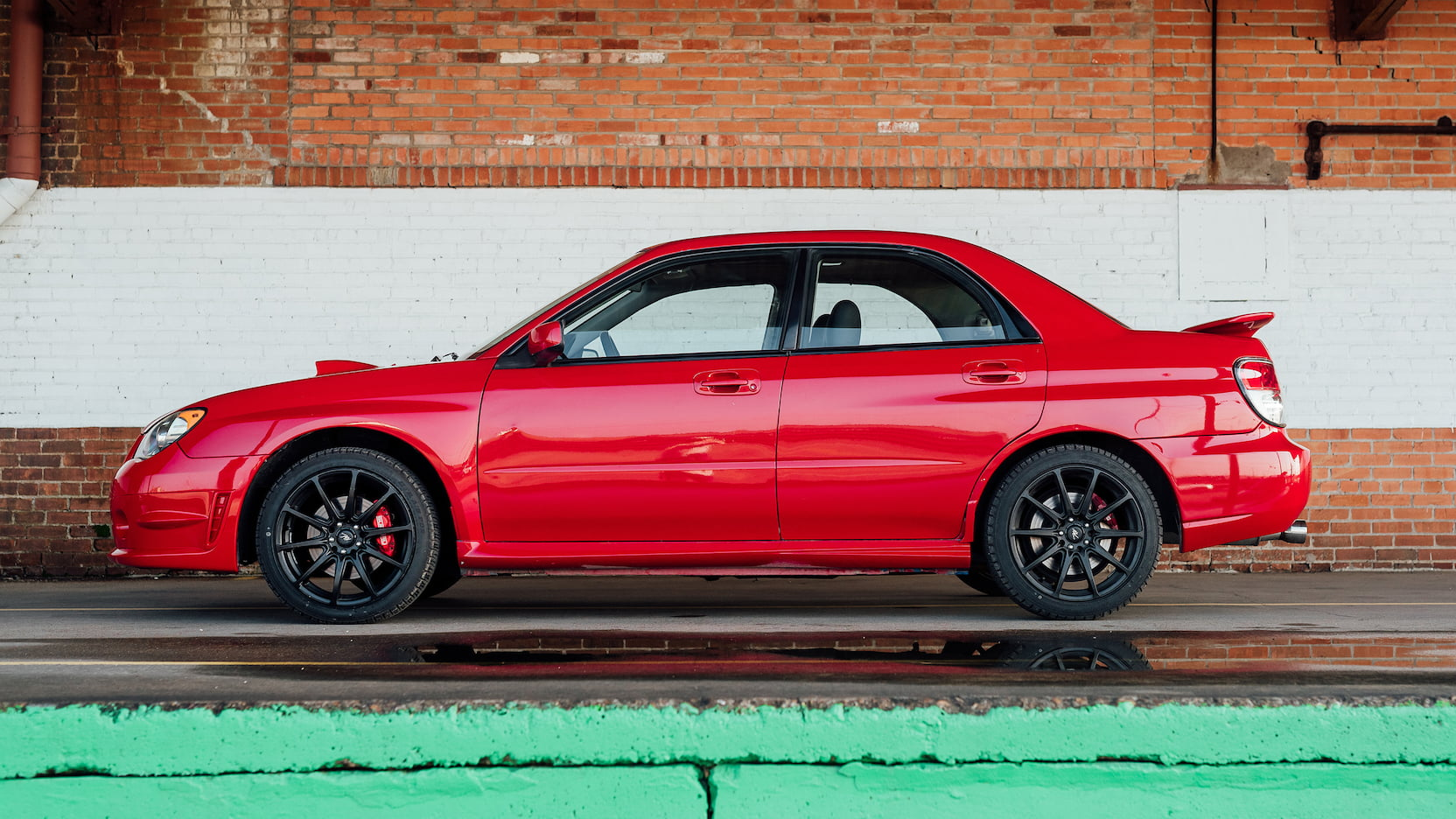2006 Subaru WRX coupe profile