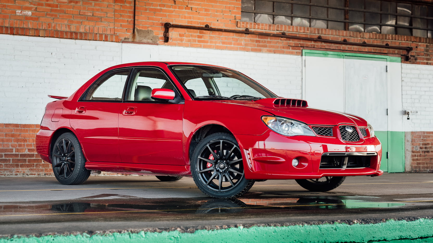 2006 Subaru WRX from Baby Driver is headed to auction