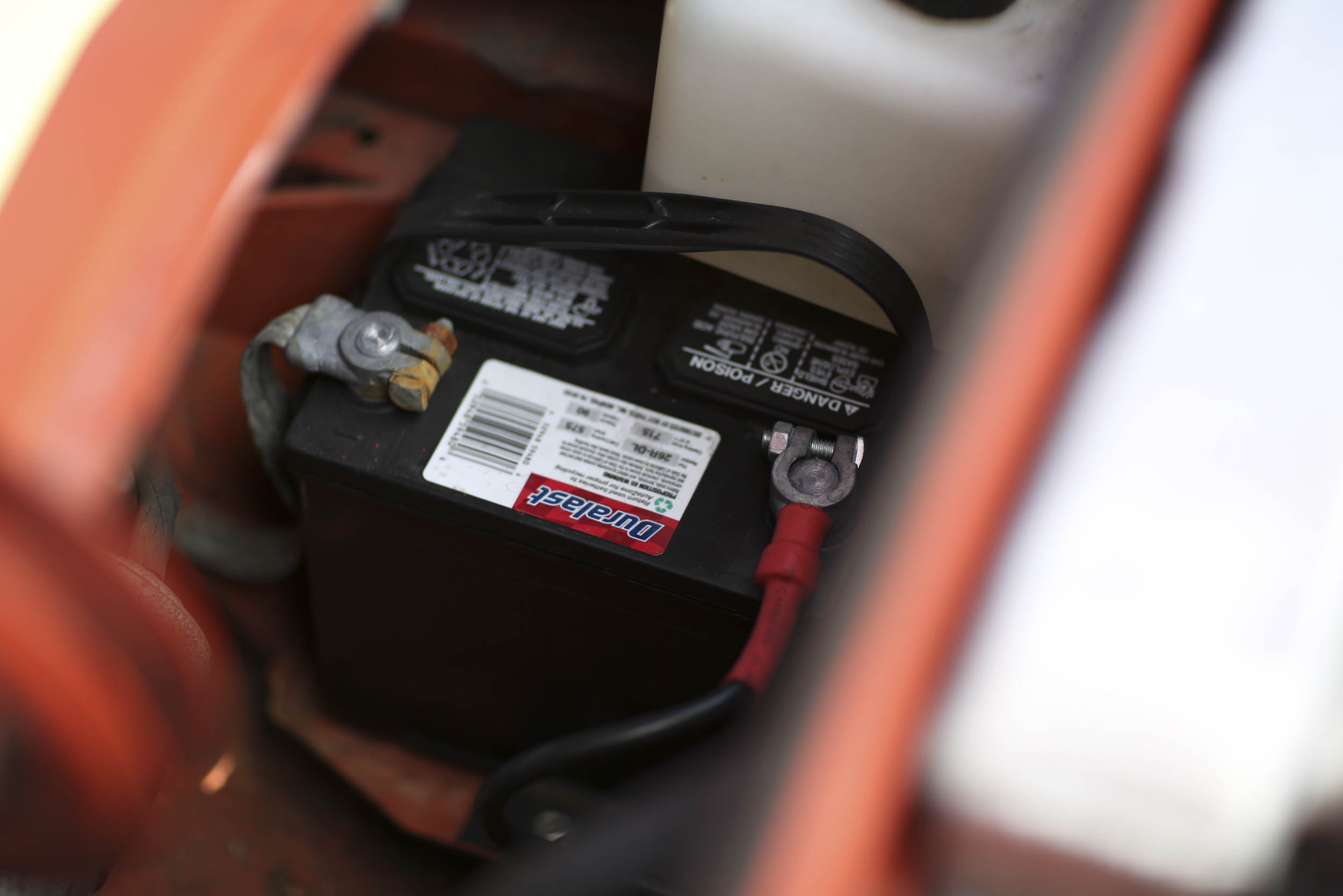 before taking your car out of storage make sure to check your battery
