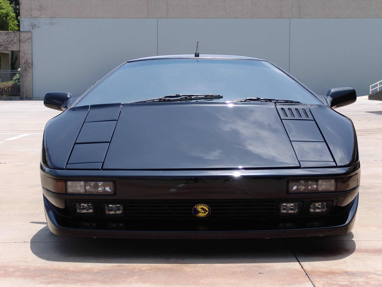 black Cizeta-Moroder V16T front