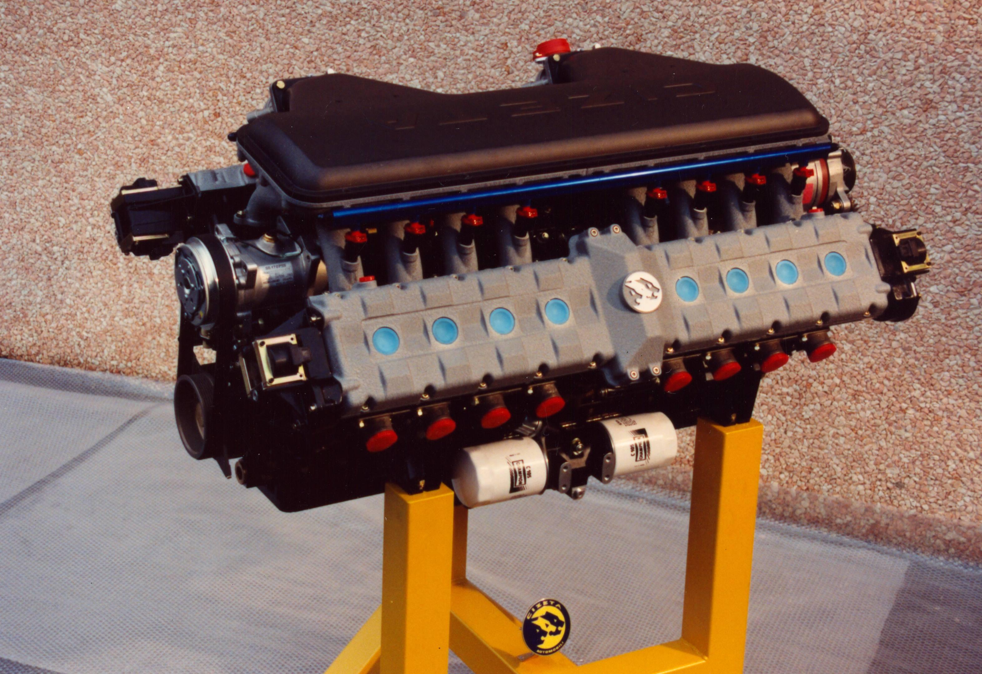 Cizeta-Moroder V16T V-16 engine