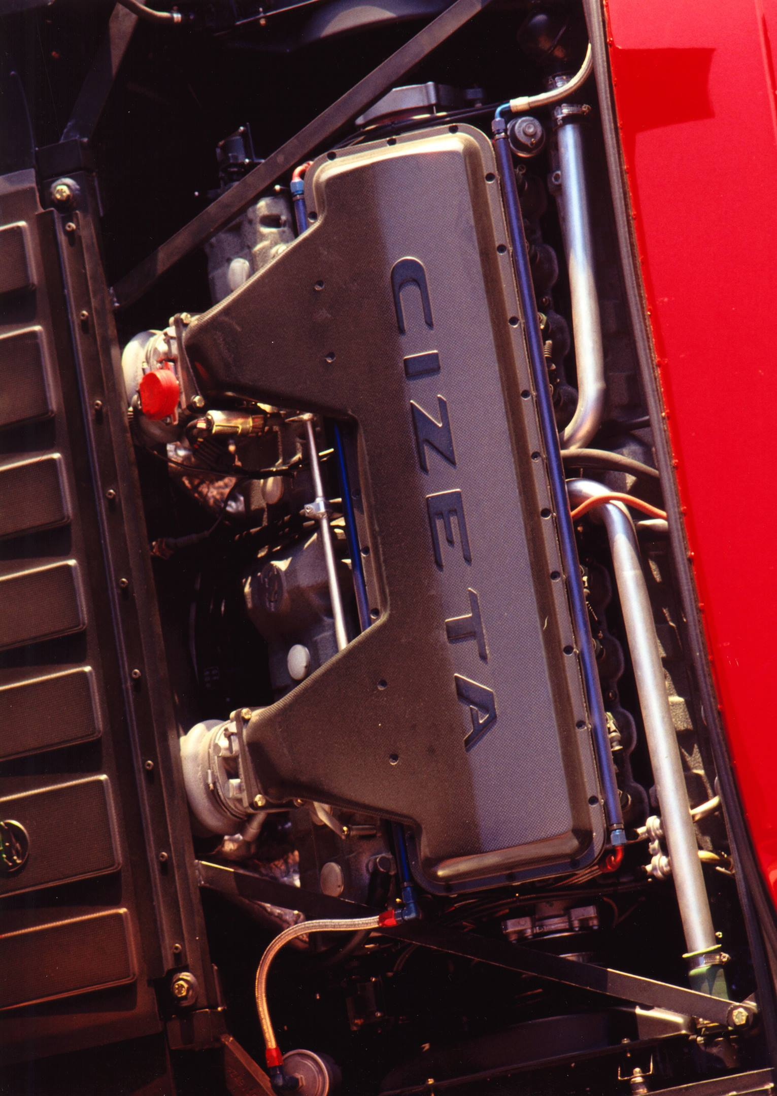 Cizeta 16-cylinder engine