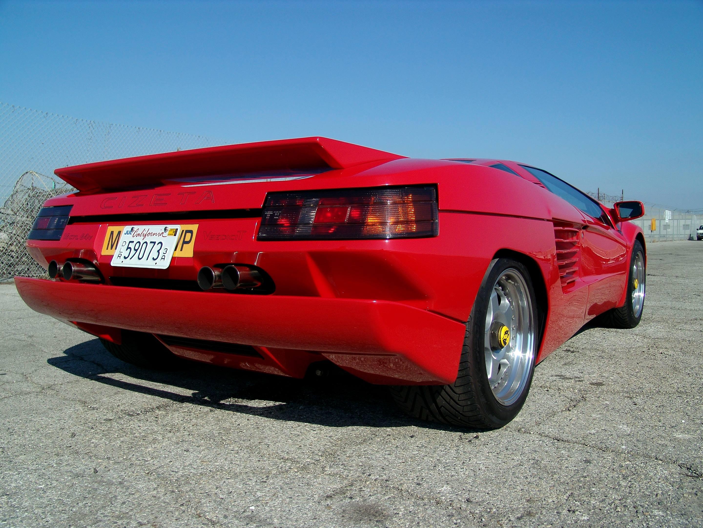 Cizeta-Moroder V16T low rear 3/4