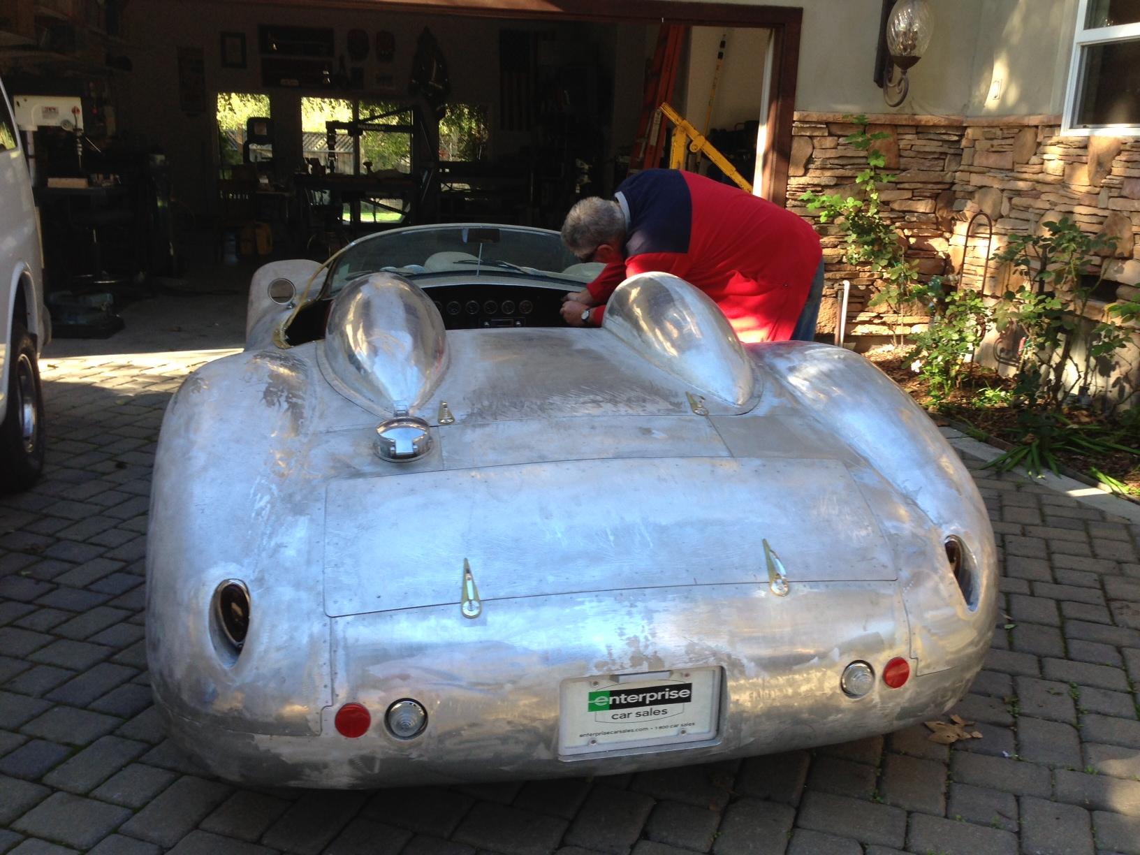 building the Daedalus rear
