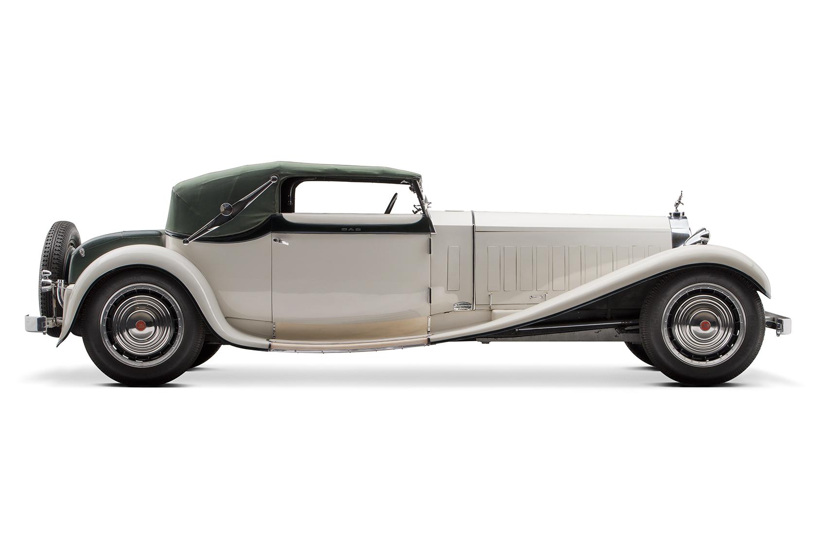 1931 Bugatti Type 41 Royale profile