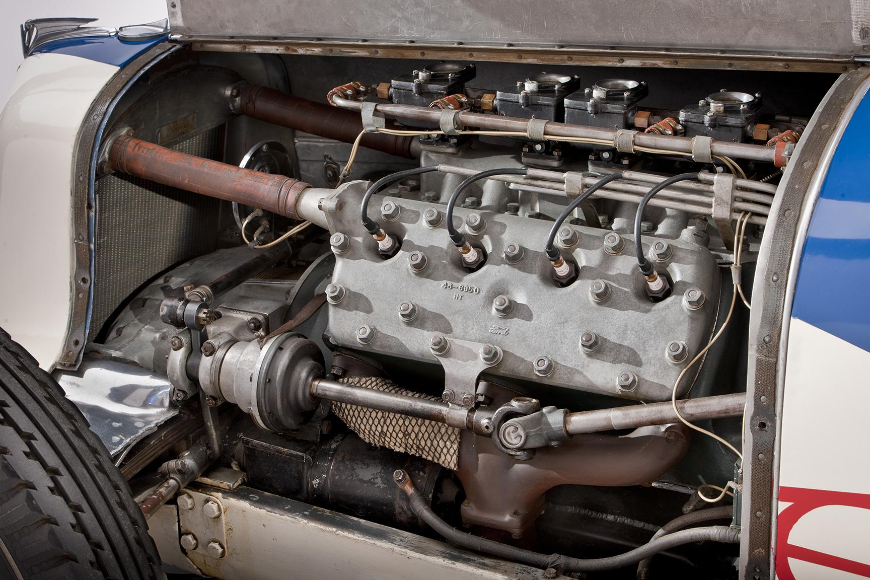 1935 Ford-Miller Special engine