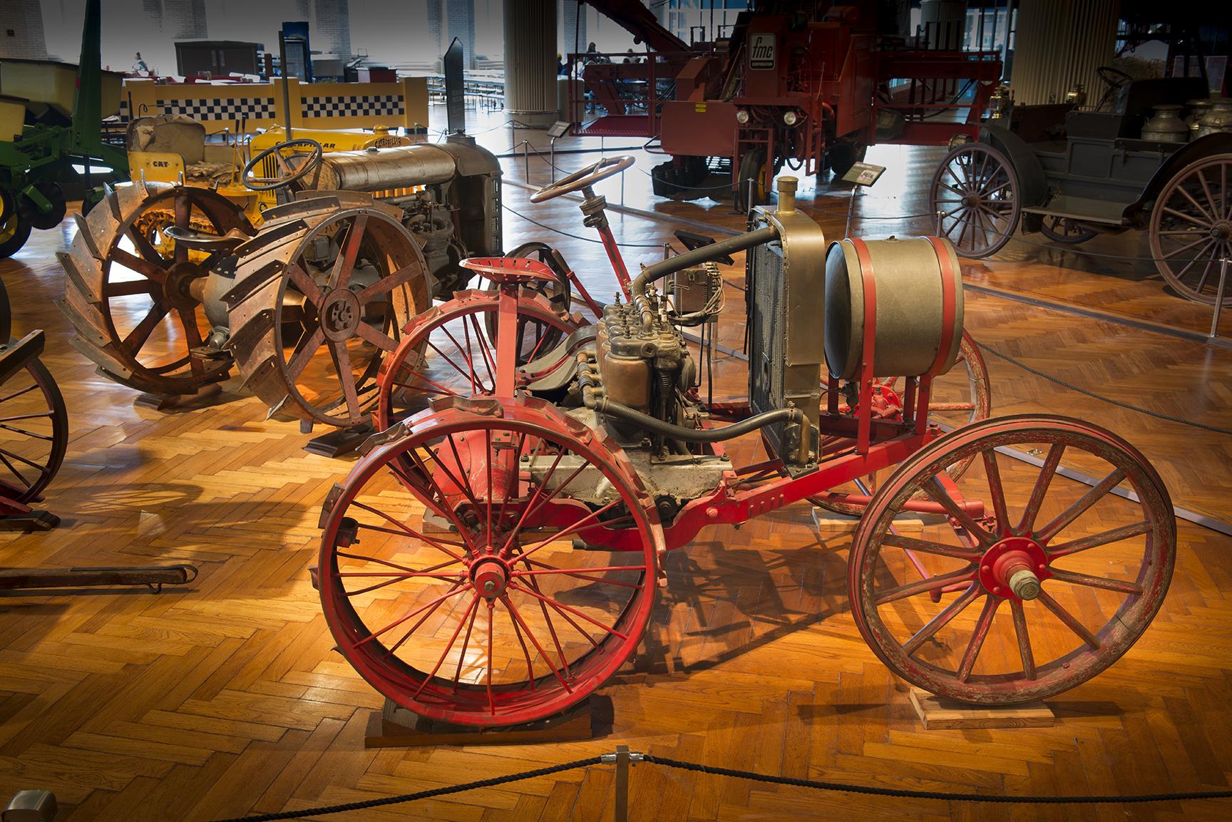 1907 Automotive Plow