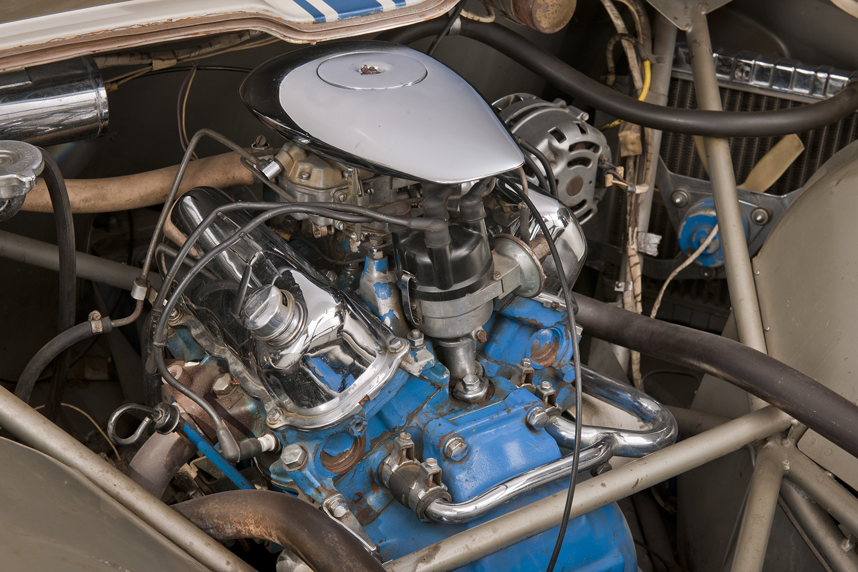 1962 Ford Mustang (Mustang I) engine