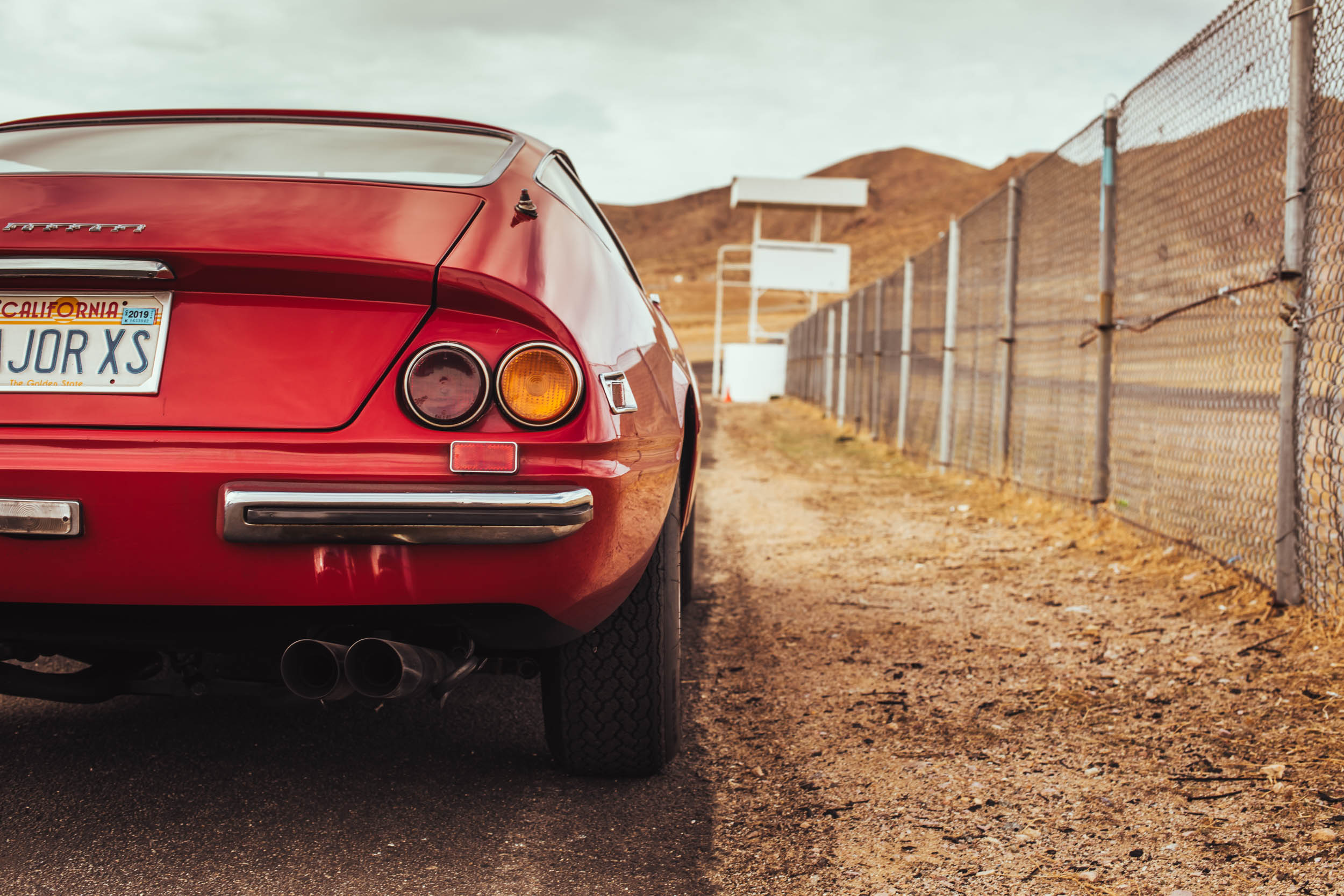 Ferrari Daytona rear detail