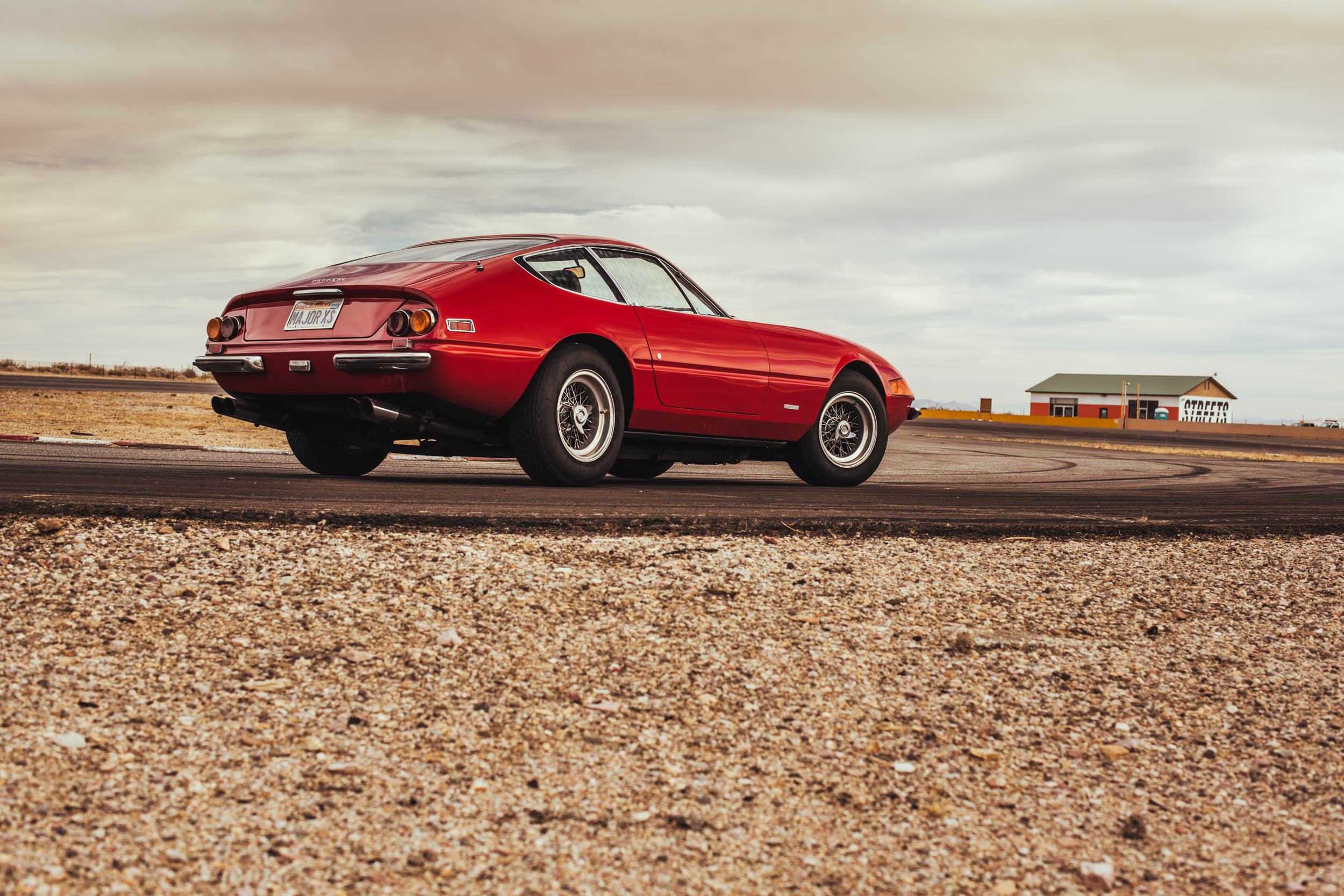 1971 Ferrari Daytona 365 GTB/4 rear 3/4
