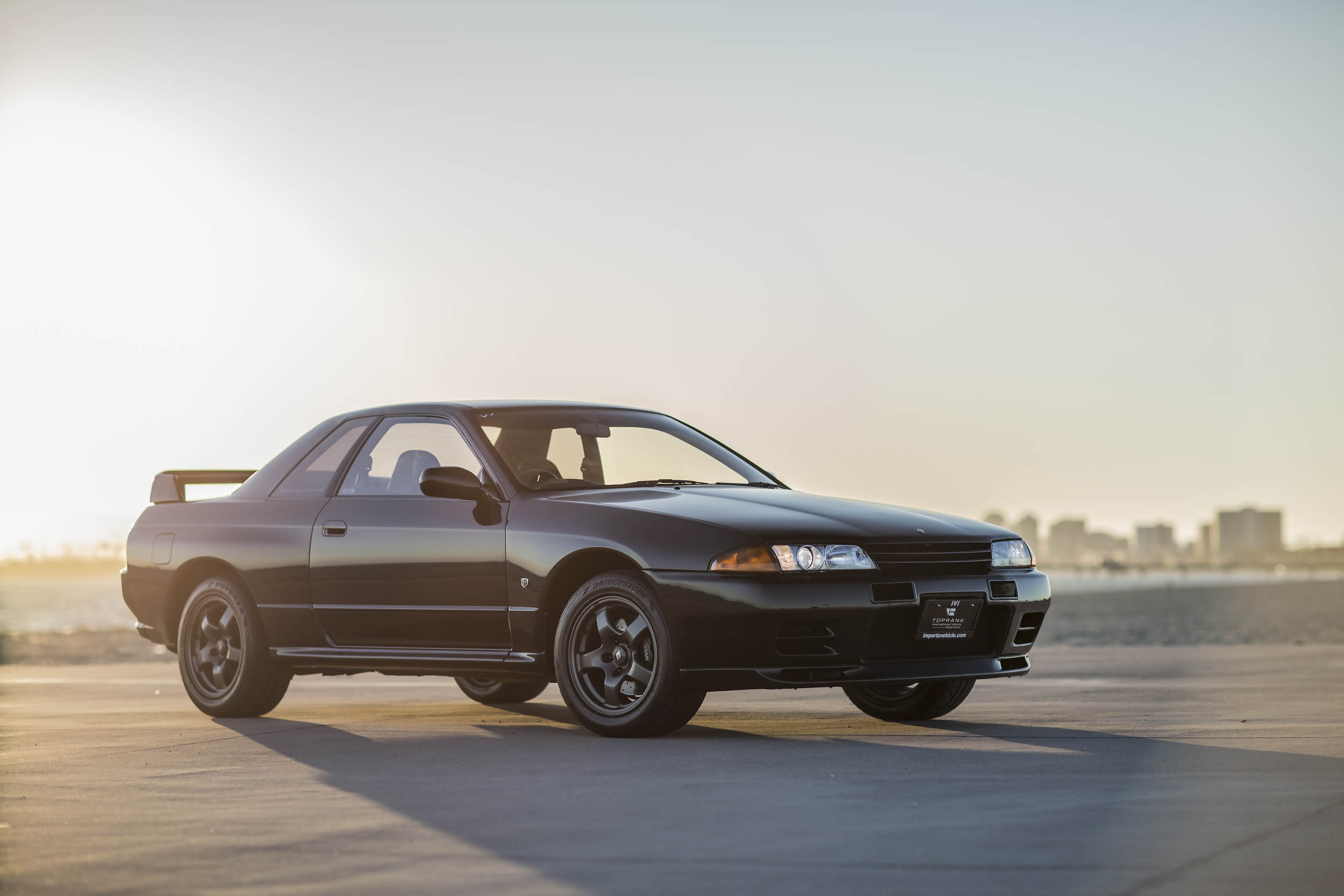 Nissan R32 GT-R front 3/4
