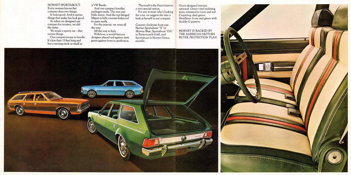 1972 AMC Gucci interior