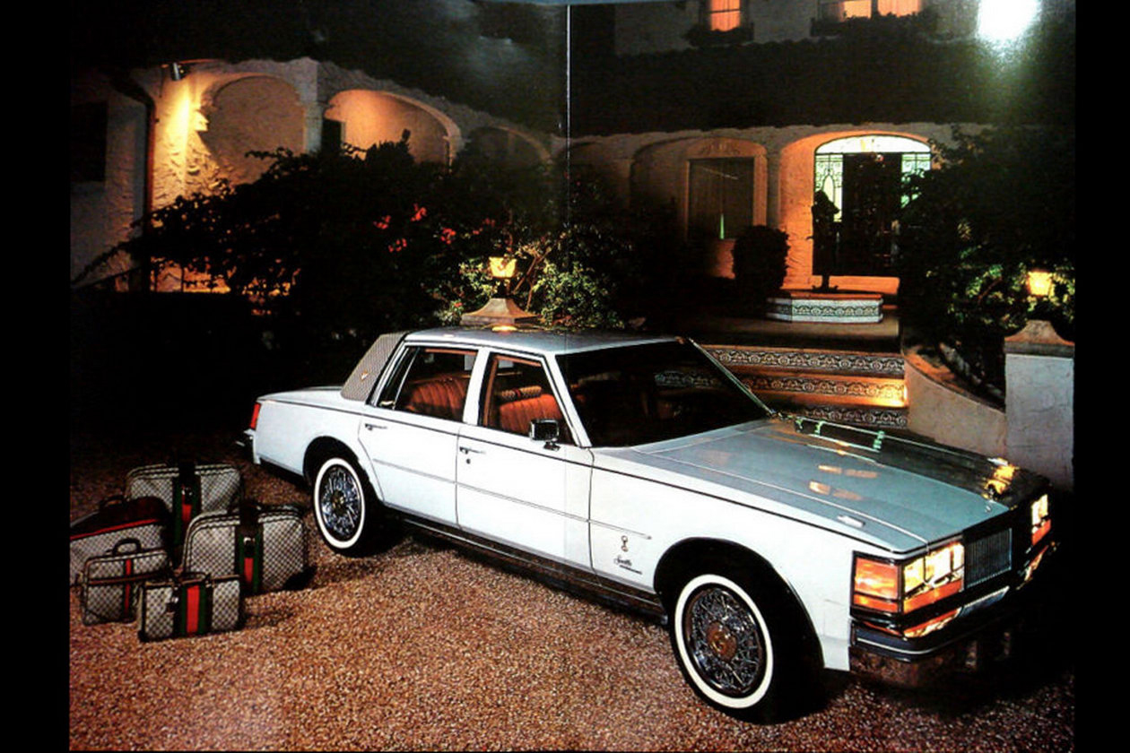 1979 Cadillac Seville by Gucci ad
