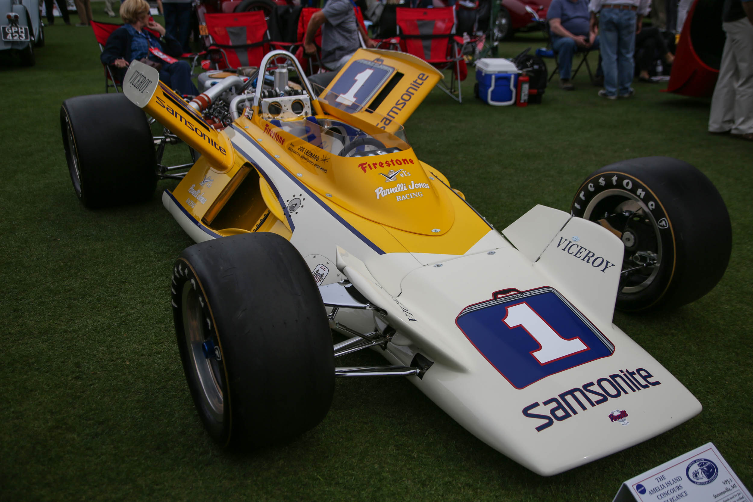 Amelia Island 2018 open wheel race car