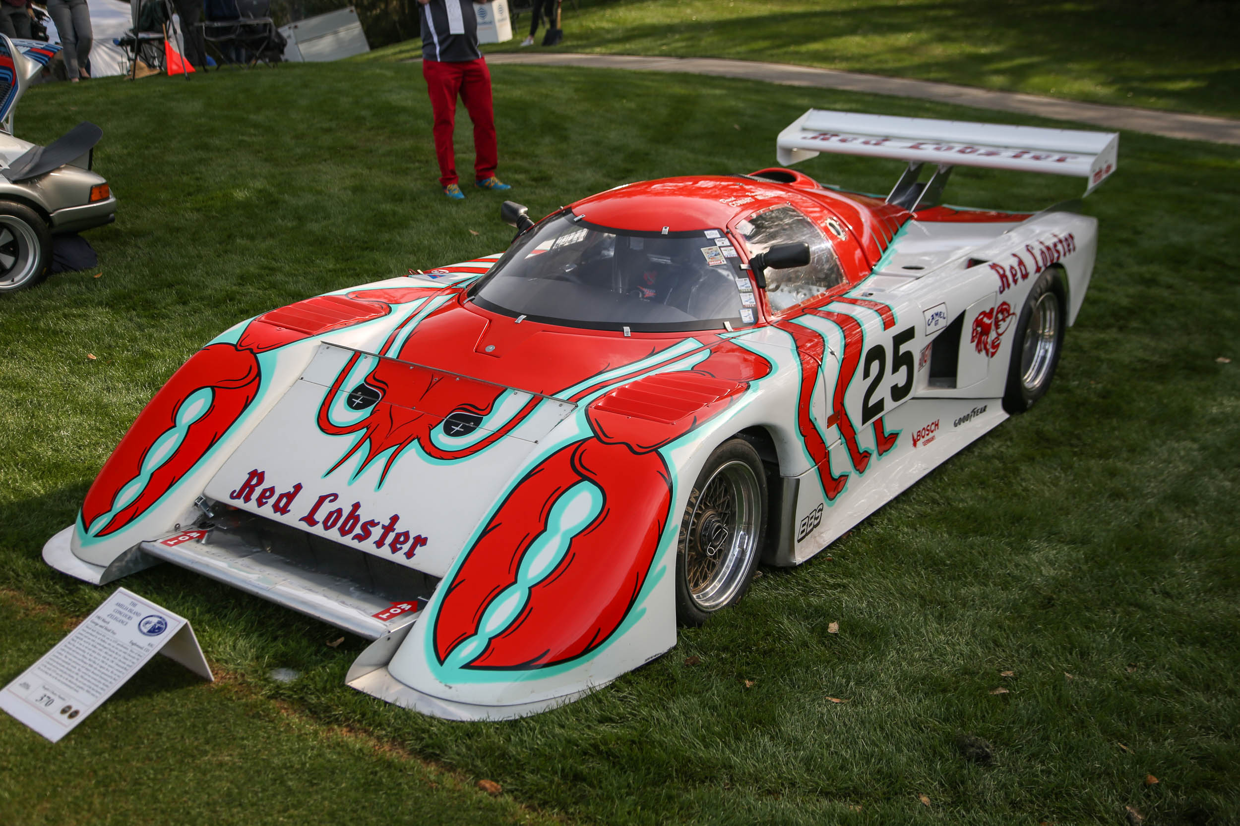 Has there ever been a cooler race livery than this Red Lobster March Chevrolet IMSA car?