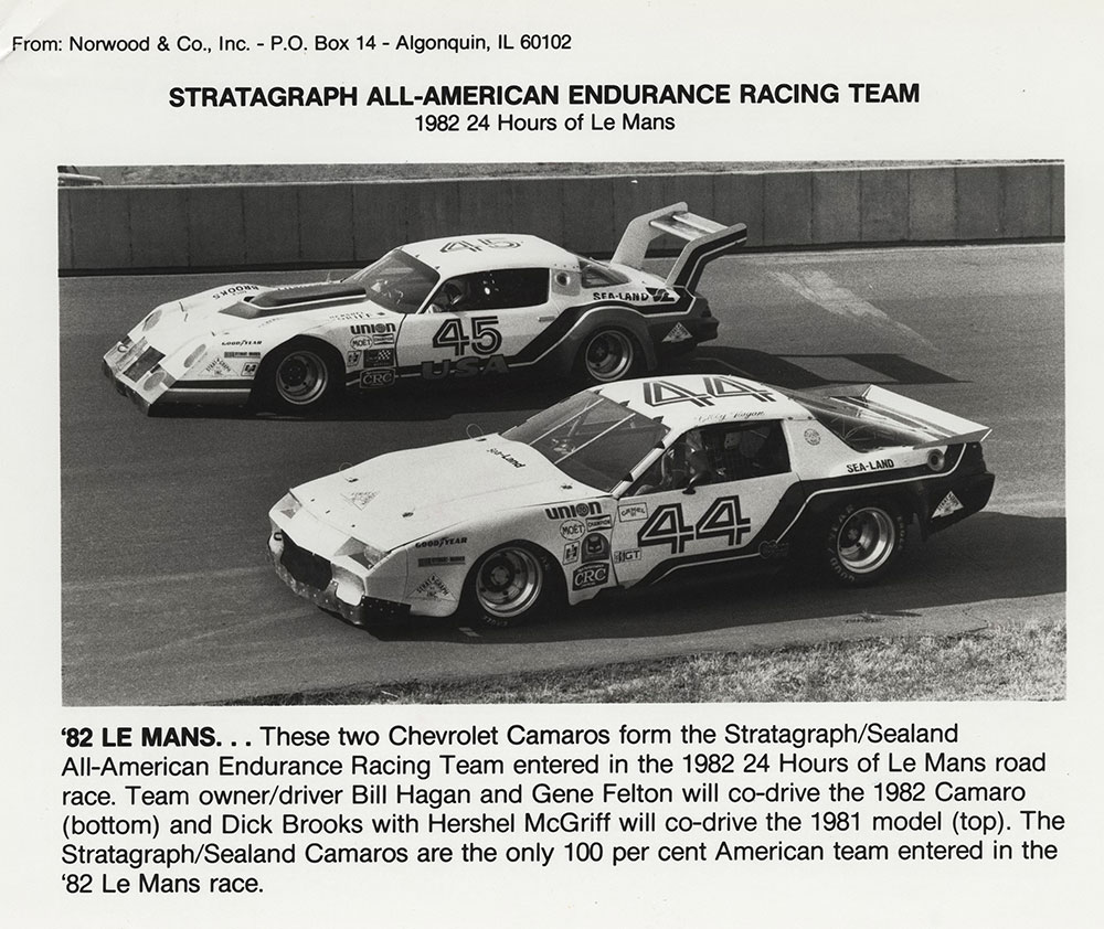 Chevy Camaros at Le Mans