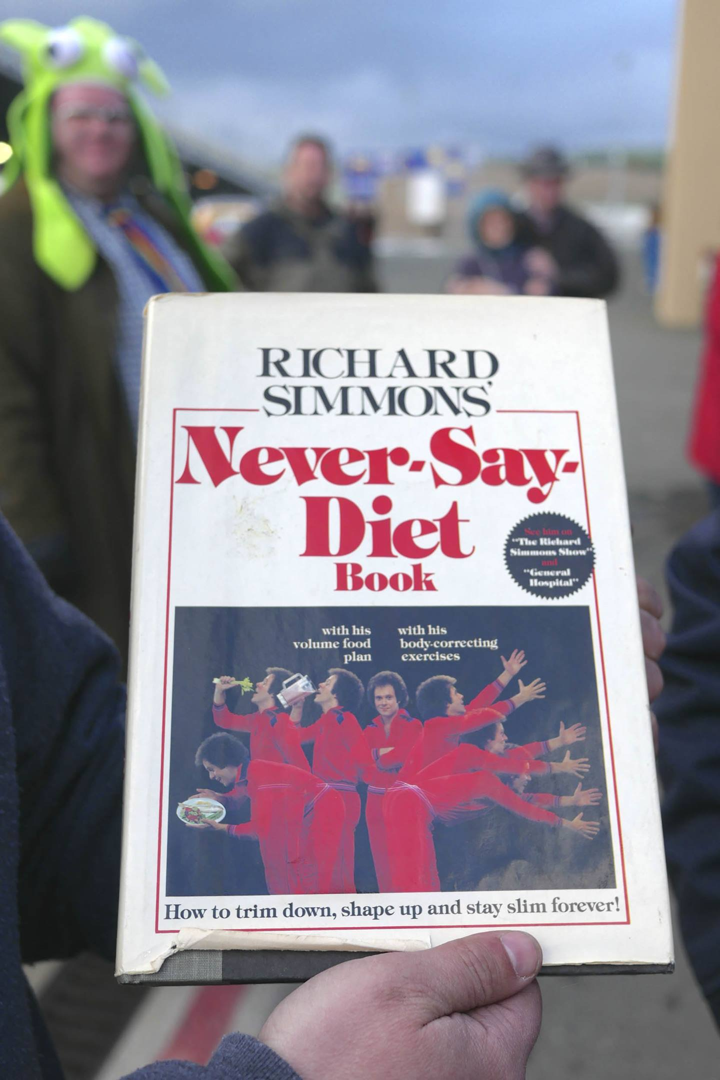 Richard Simmons Never say diet book