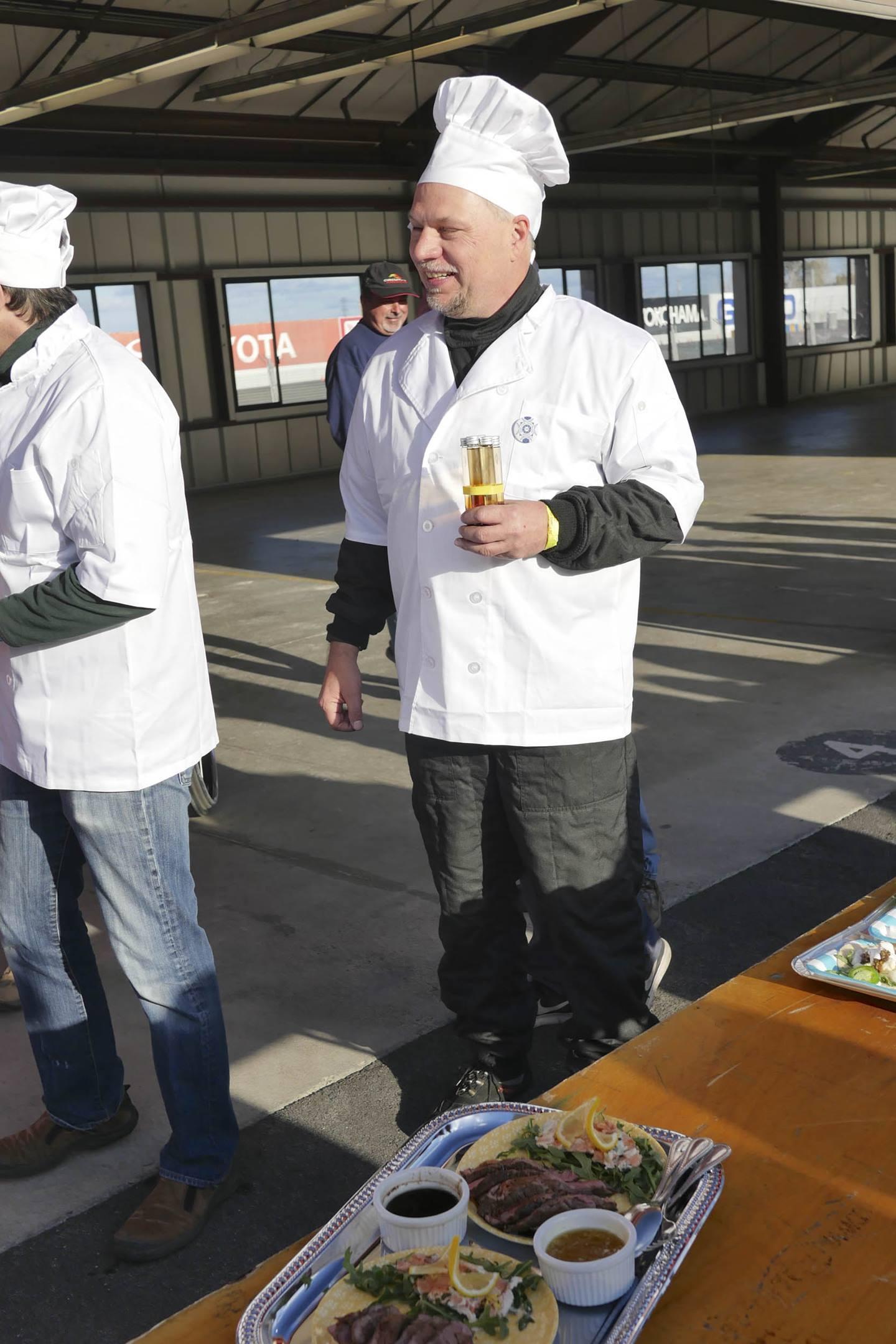 24 Hours Of LeMons Underhood Cook Off chef
