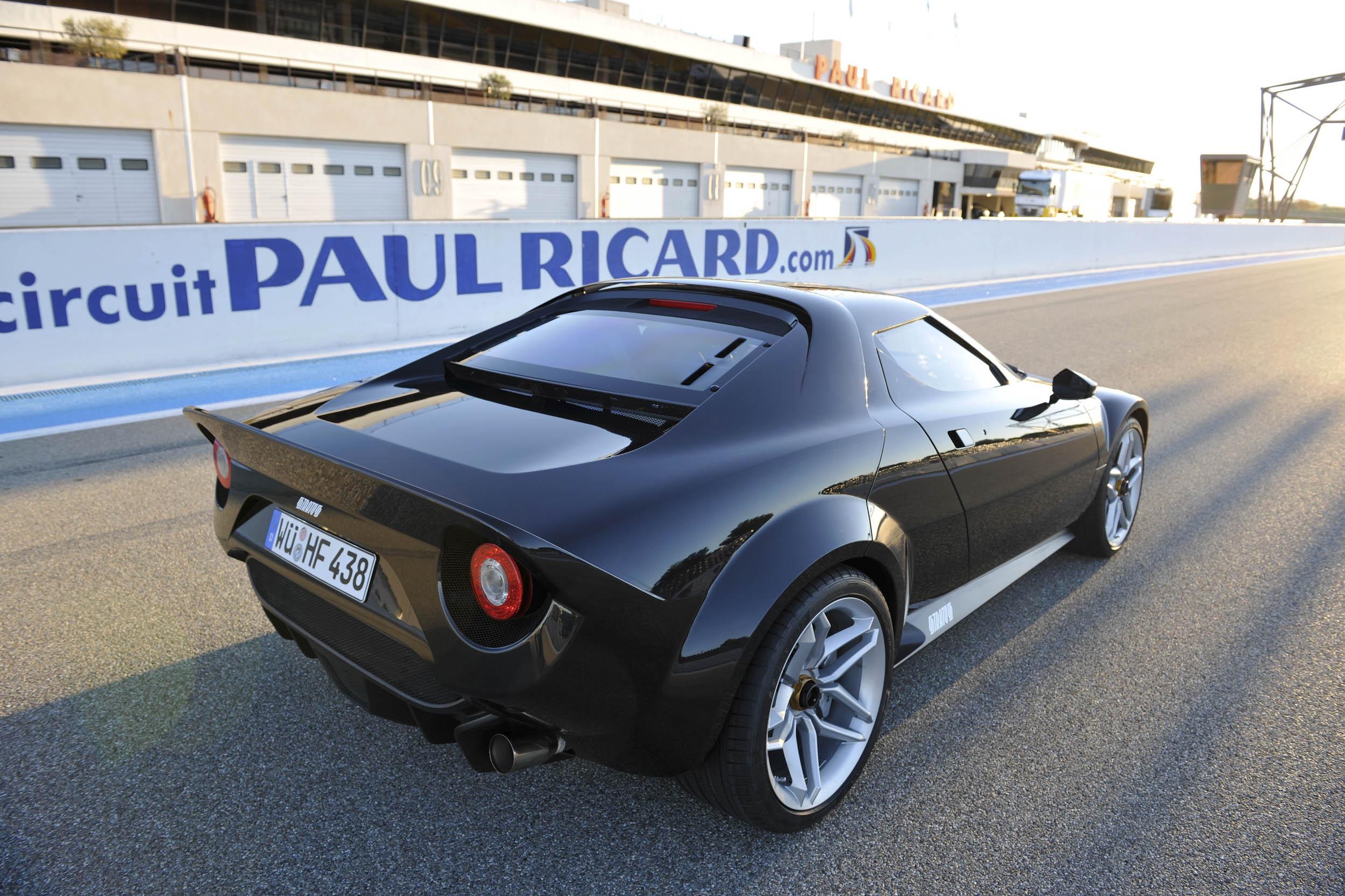 New Stratos rear 3/4
