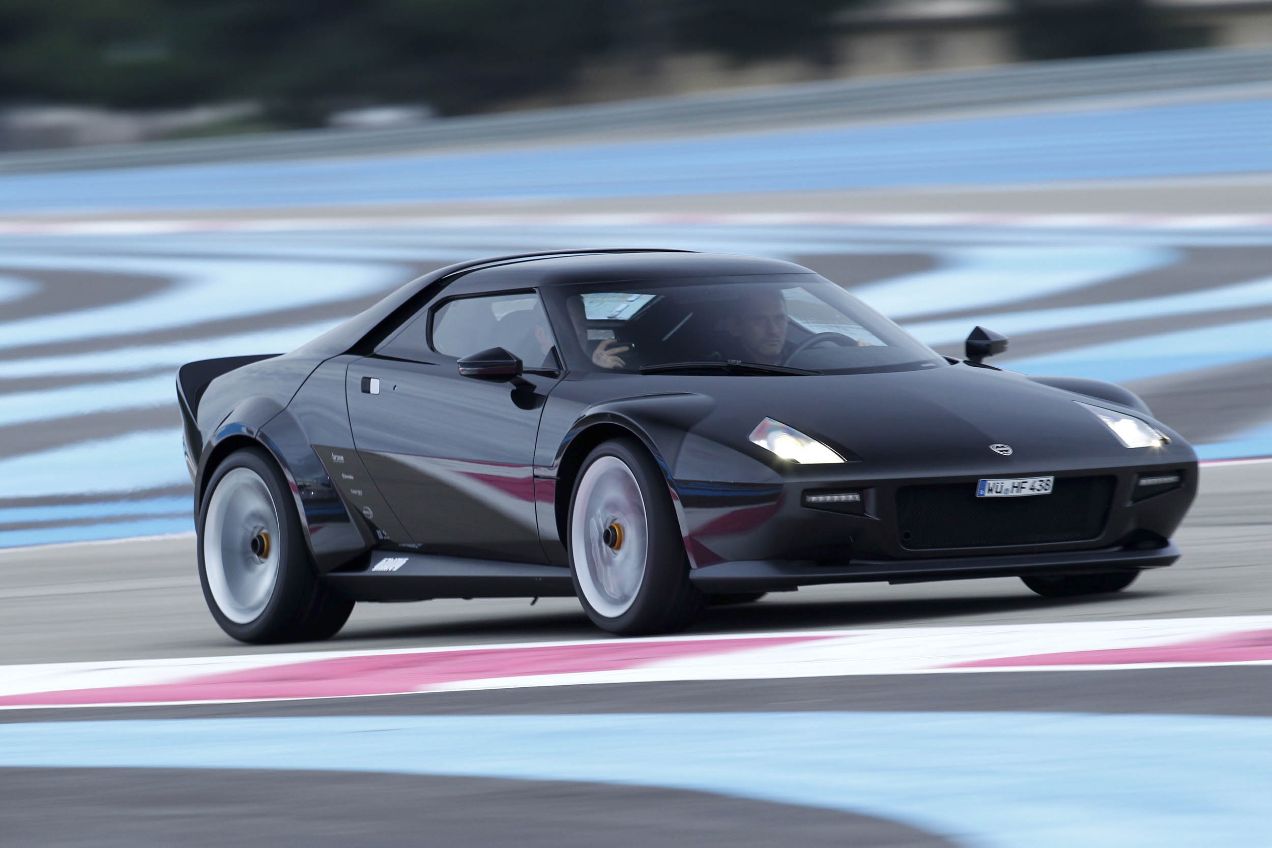 New Stratos driving