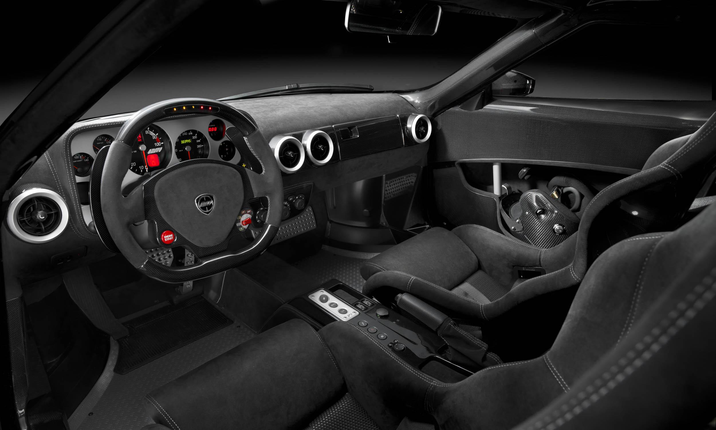 New Stratos interior