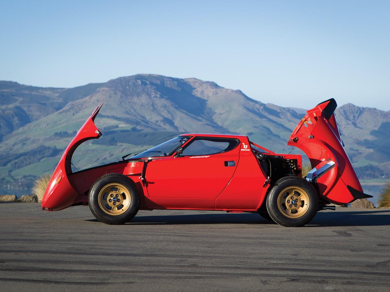 1974 Lancia Stratos HF Stradale profile