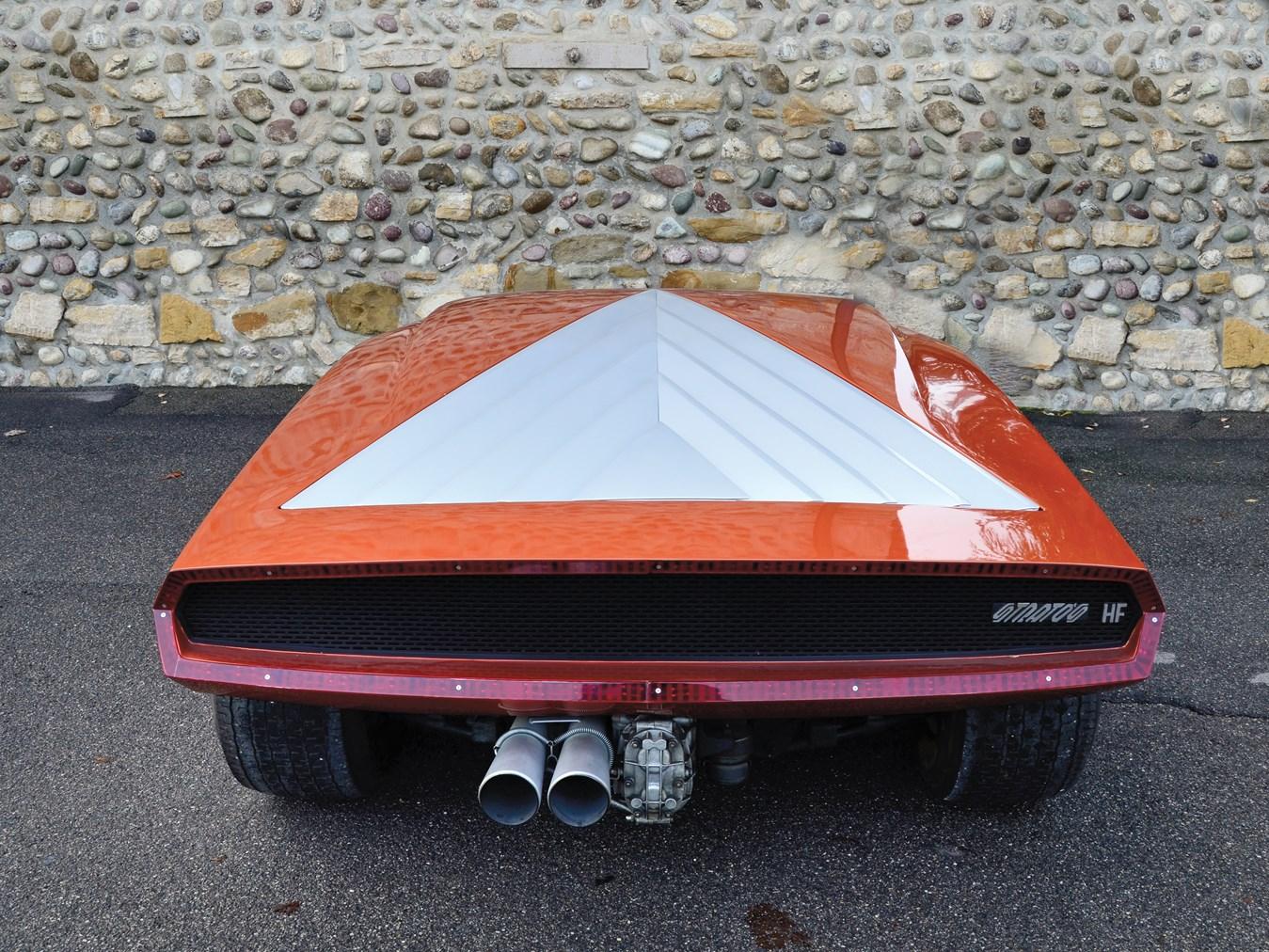 Stratos Zero concept rear