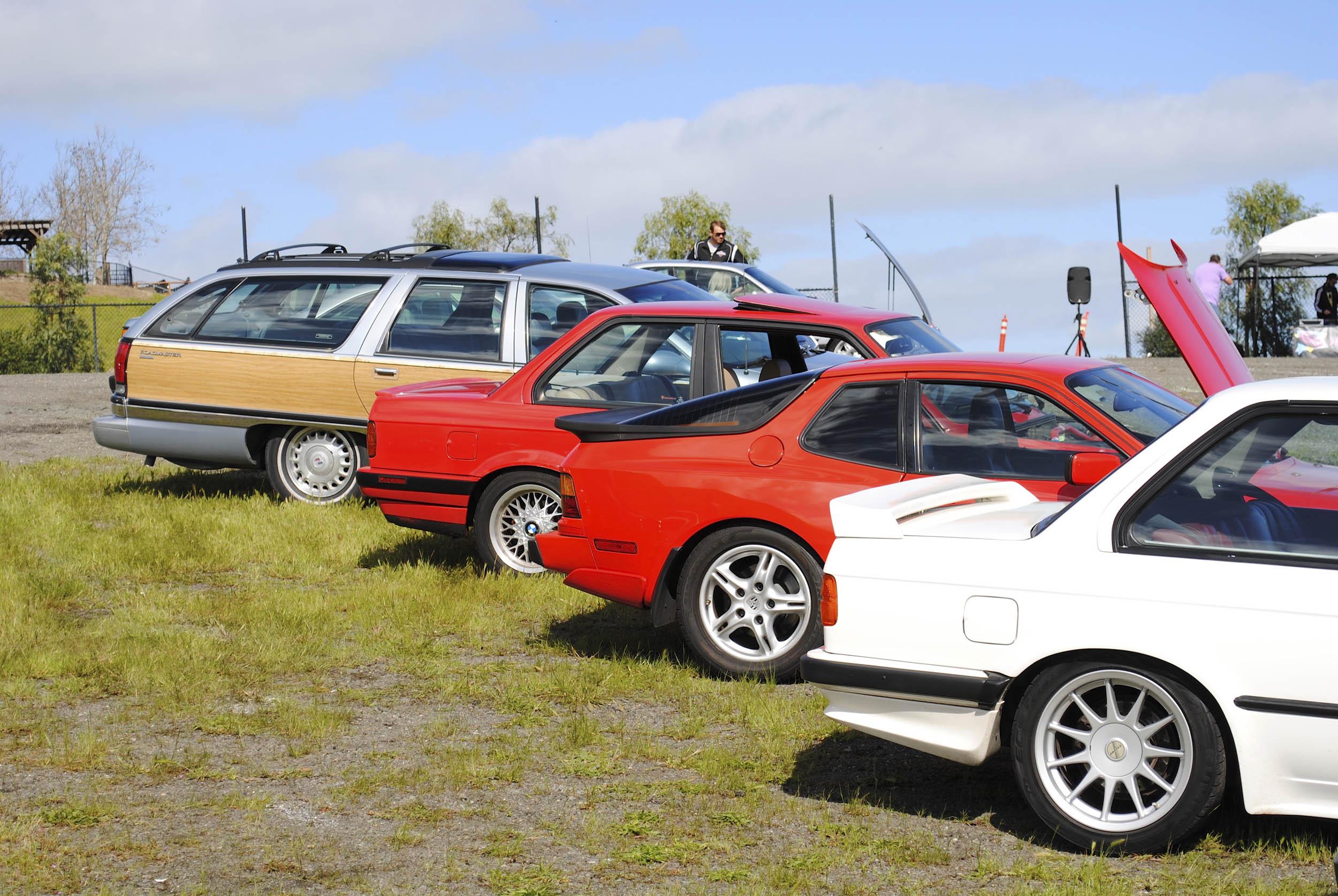 Radwood 80s and 90s cars