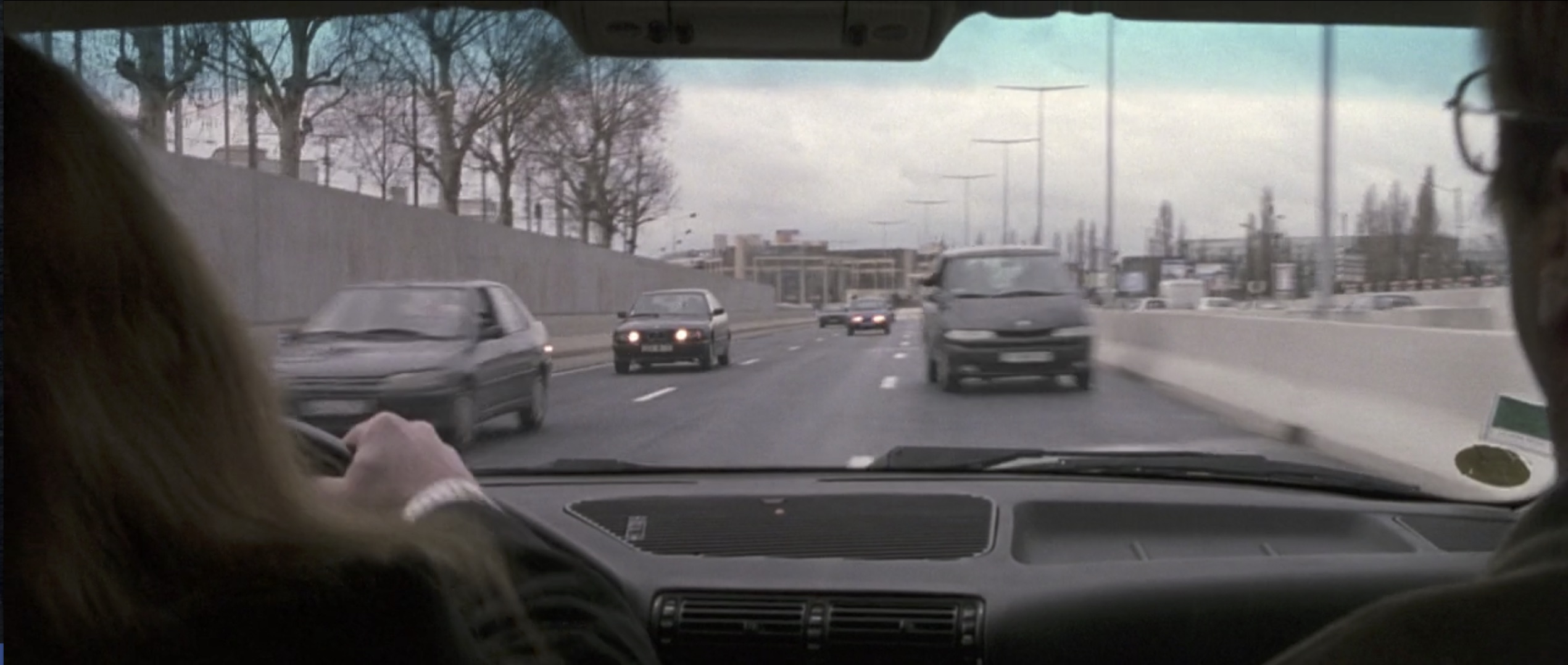 Ronin driving on the wrong side of the road