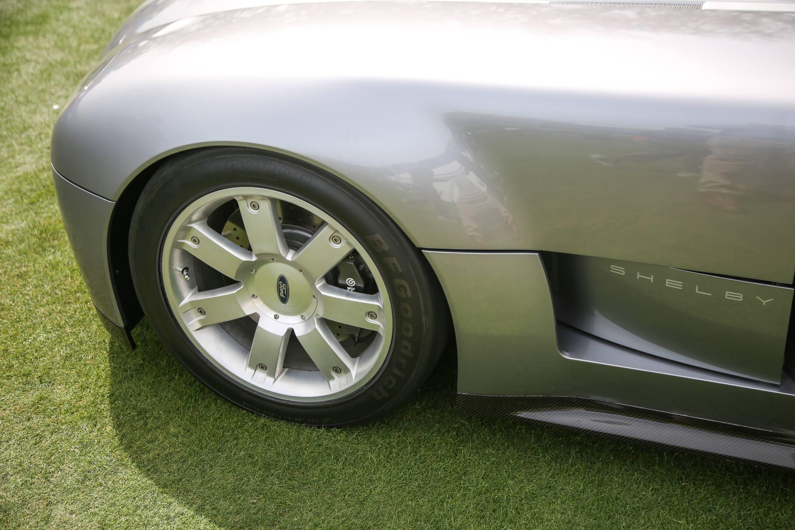Shelby concept quarter panel detail