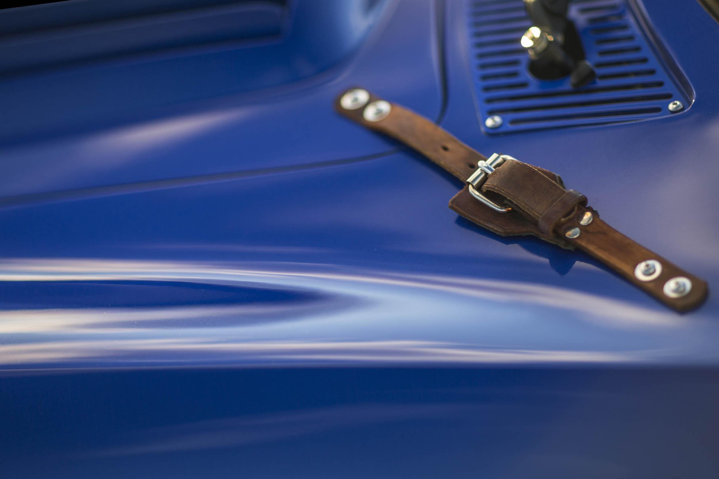 Superformance Corvette Grand Sport hood strap