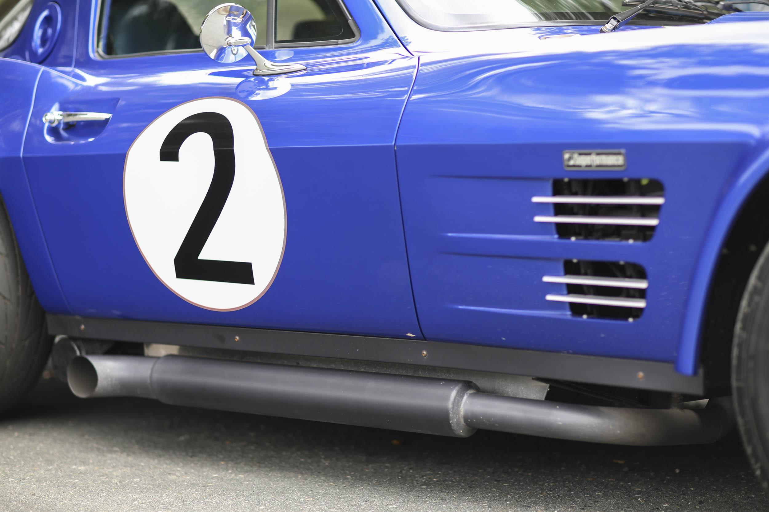 Superformance Corvette Grand Sport side pipe
