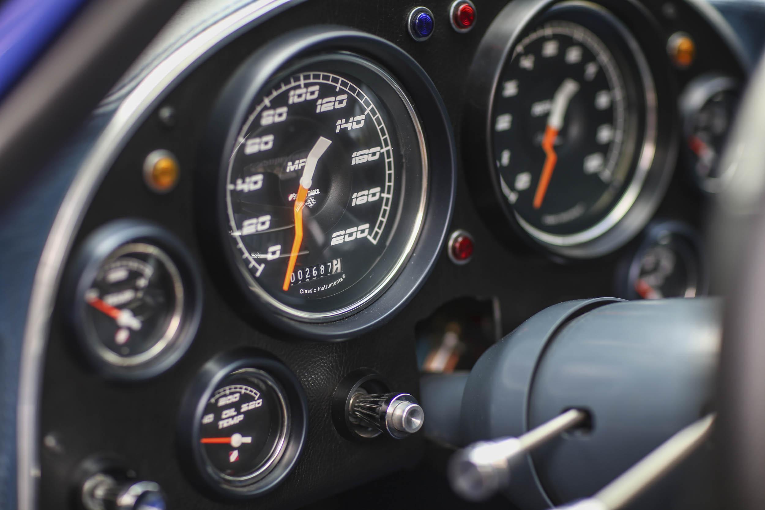 Superformance Corvette Grand Sport speedometer