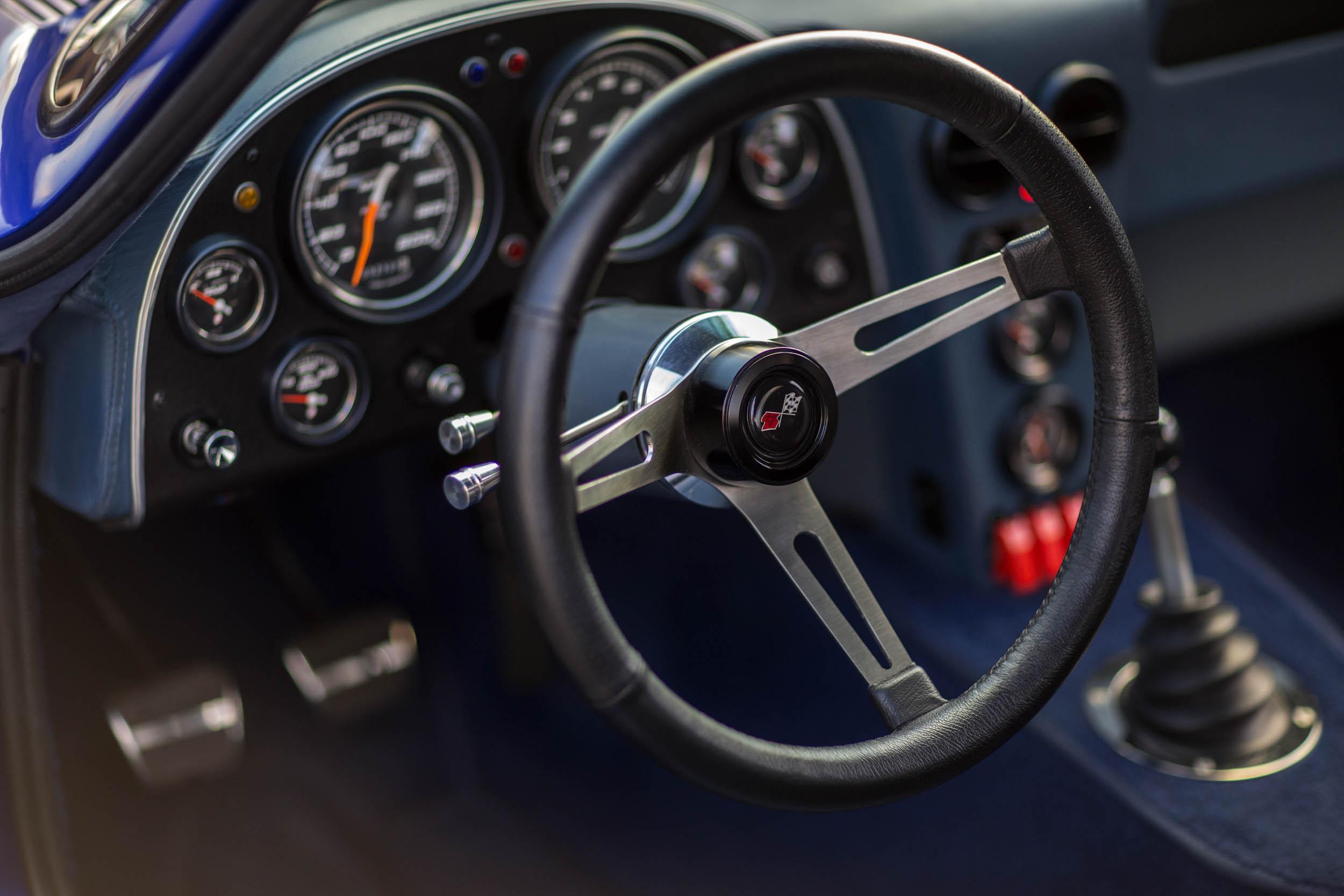Superformance Corvette Grand Sport steering wheel