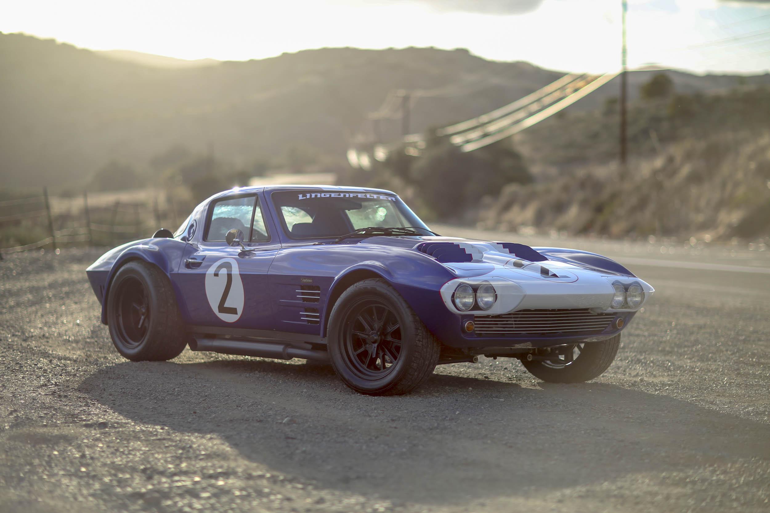 Superformance Corvette Grand Sport front 3/4