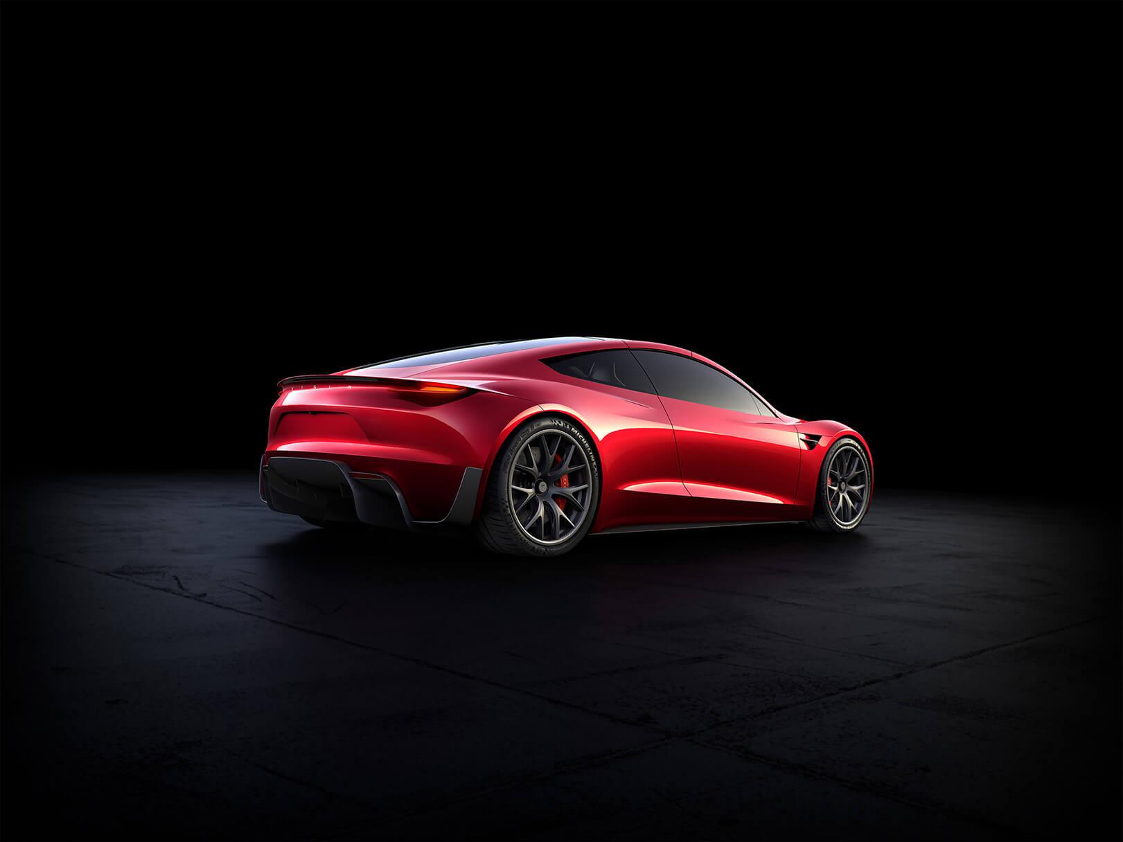 Tesla Roadster rear 3/4
