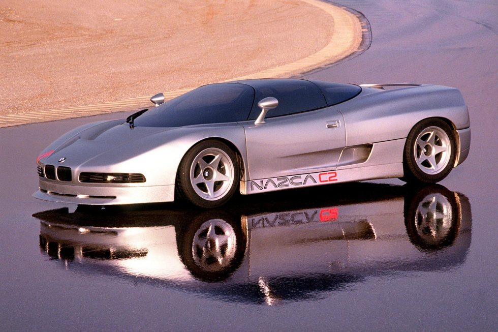 1991 BMW Nazca concept C2 coupe