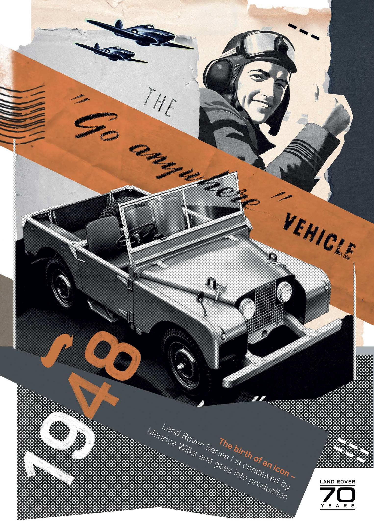 Land Rover 1948 Series I poster