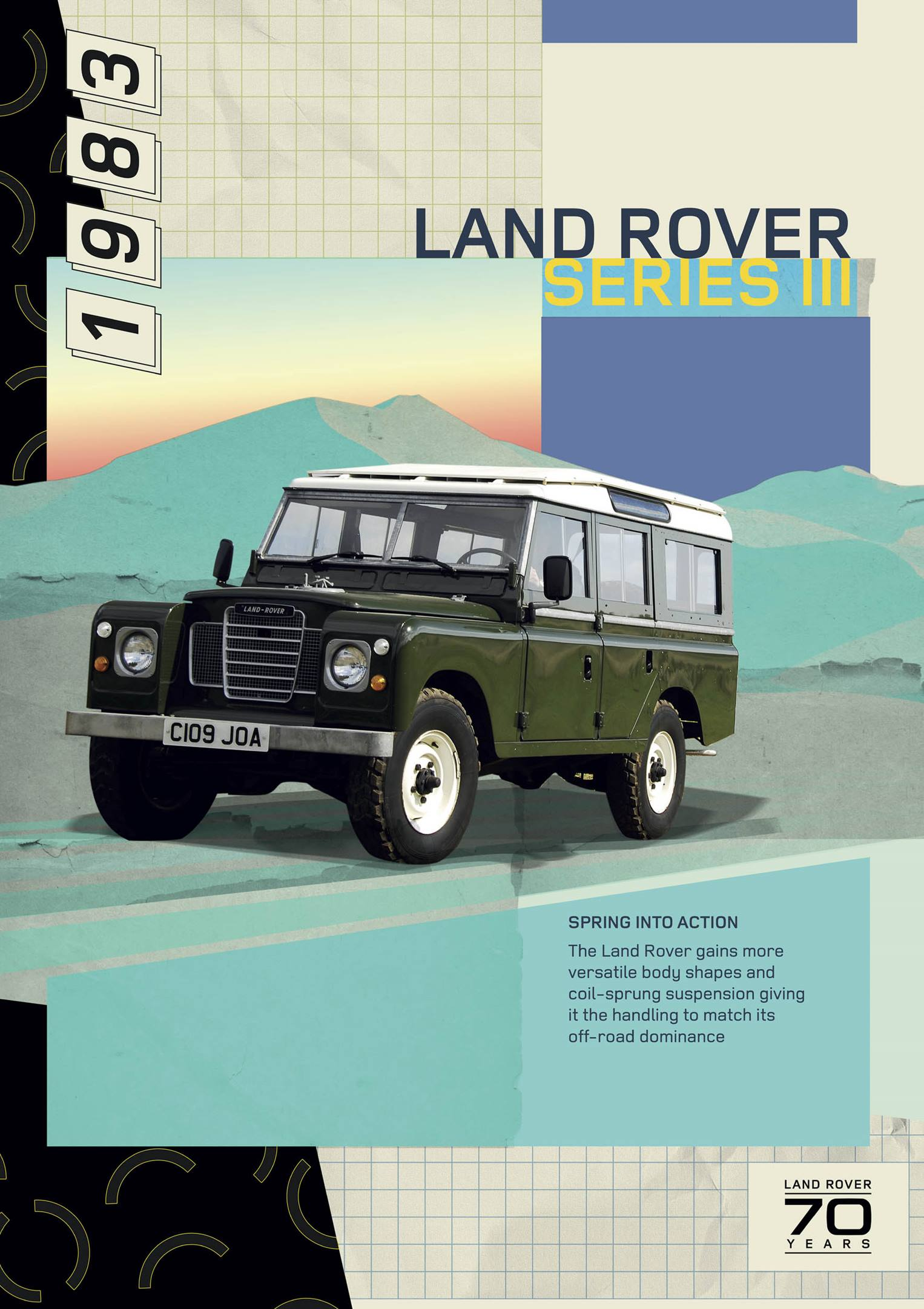 1983 Land Rover Series III poster