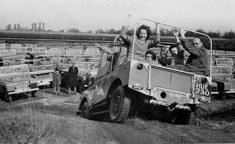 Land Rover's first anniversary 1949