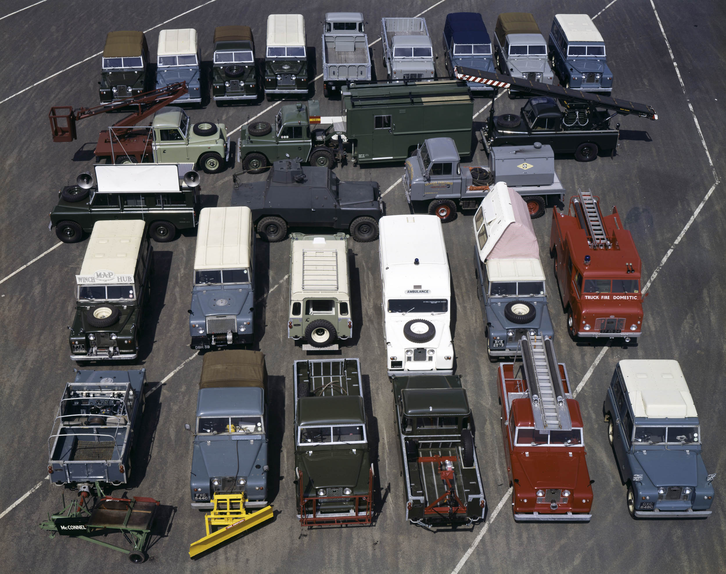 Land Rover specialist vehicles 1960s