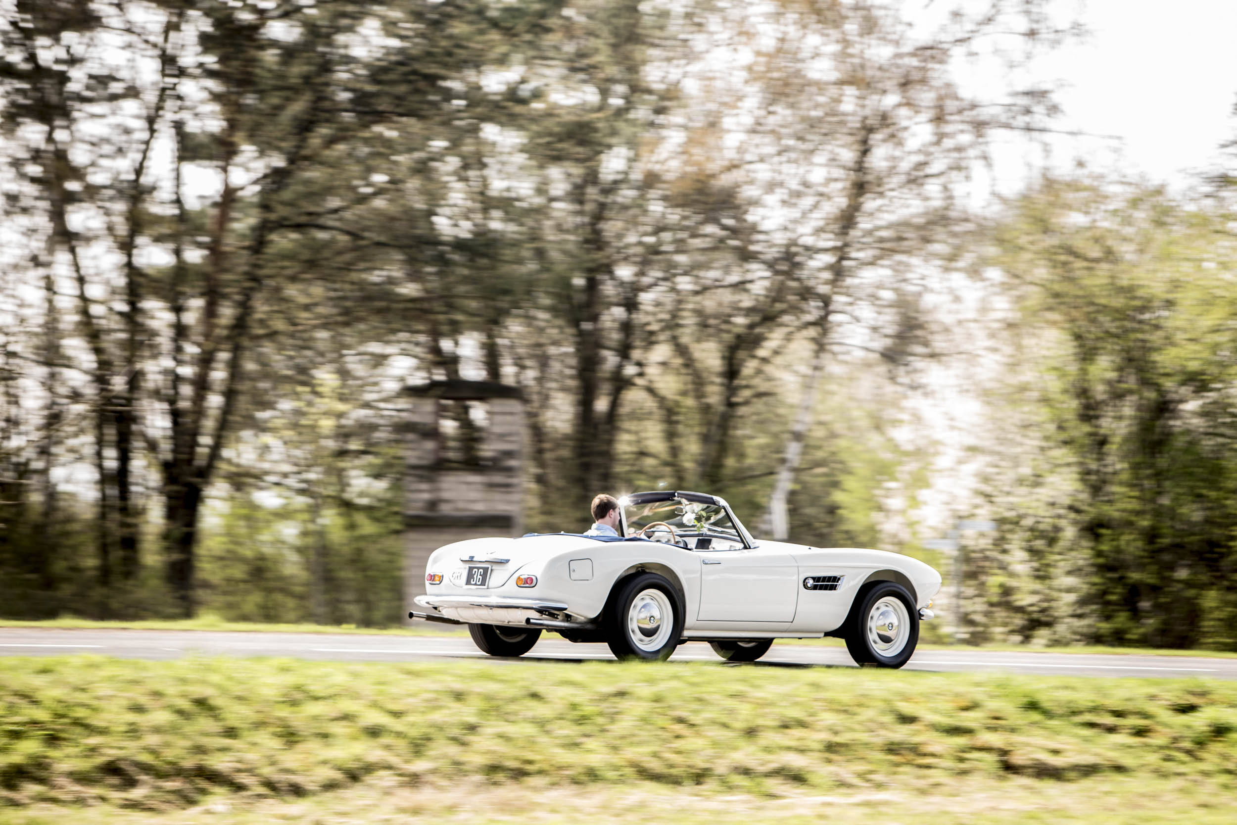 1959 BMW 507 Roadster rear 3/4