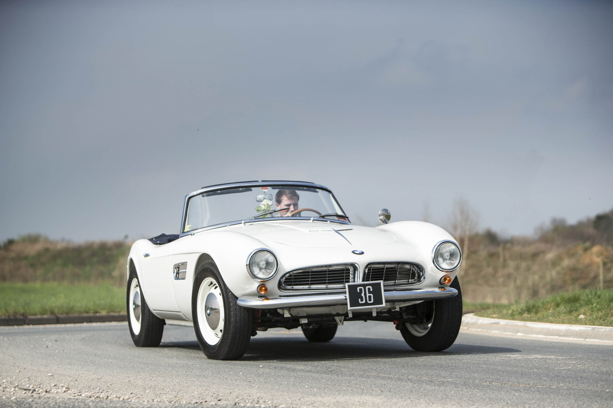 1959 BMW 507 Roadster front 3/4