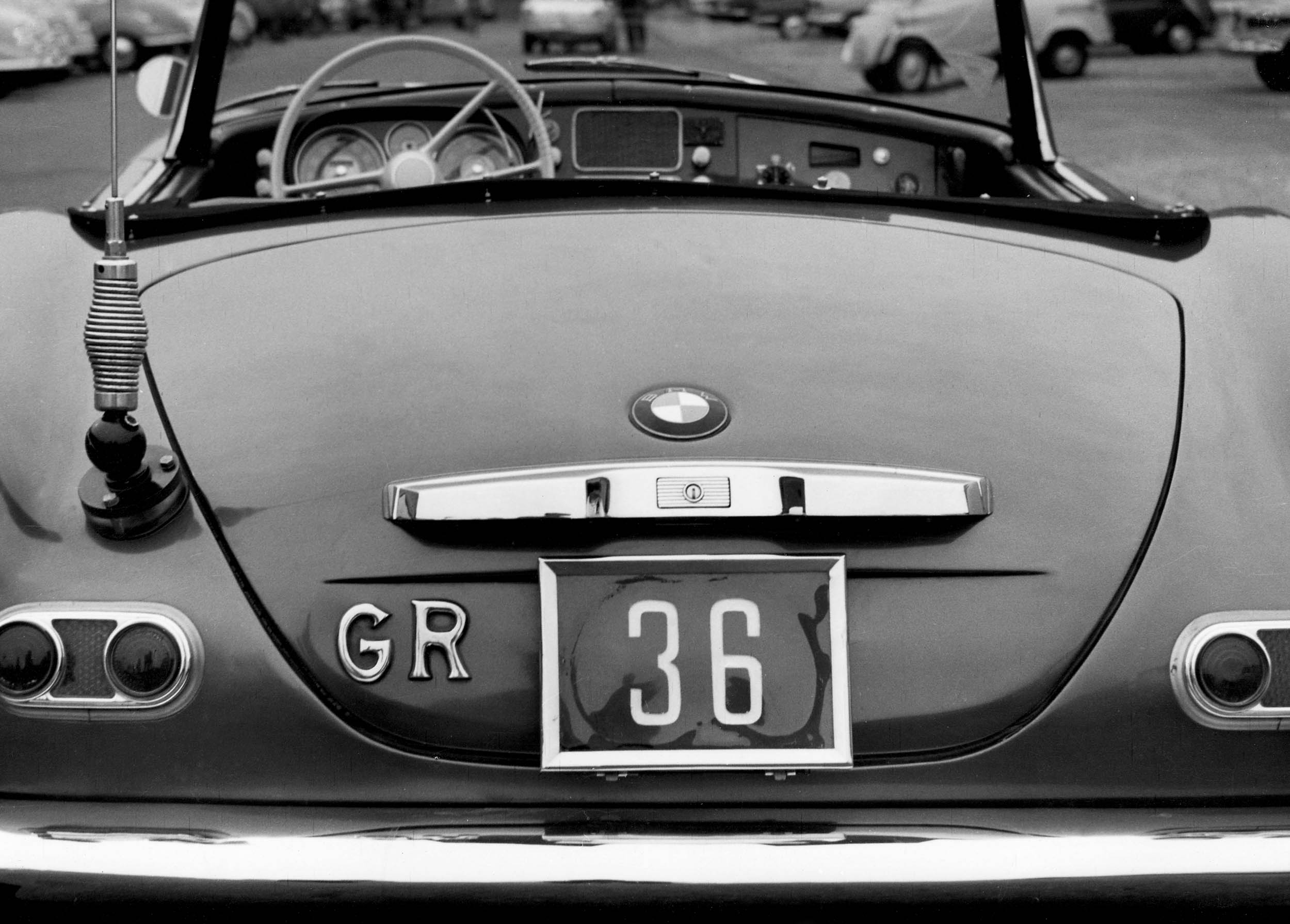 1959 BMW 507 Roadster rear